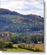 Hills Of Vermont Metal Print