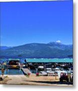 Hill's Resort On Priest Lake Metal Print