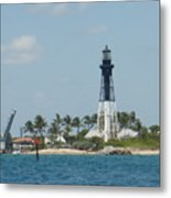 Hillsborough Light Metal Print
