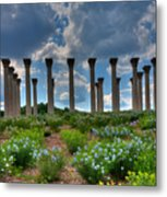 Hilltop Pillars Metal Print by Kevin Hill