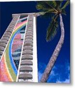 Hilton Hawaiian Village Metal Print