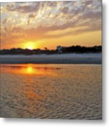 Hilton Head Beach Metal Print