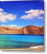 Himalayan Lake Metal Print