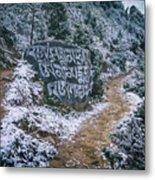 Himalayan Path Metal Print