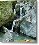 Himalayan Waterfalls Metal Print