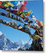 Himalayas In Nepal Metal Print