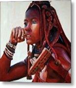 Himba Metal Print