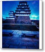 Himeji Castel Metal Print