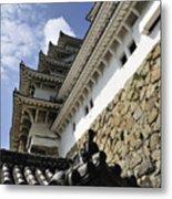 Himeji Castle Tower Metal Print