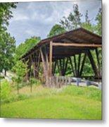 Hindman Memorial Covered Bridge Metal Print