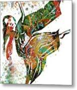 Hindu Dancer Metal Print