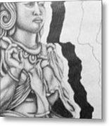 Hindu Goddess Metal Print