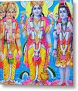 Hindu Trinity Brahma Vishnu Shiva Metal Print