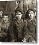 Hine: Breaker Boys, 1911 Metal Print