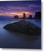 Hint Of Light Metal Print
