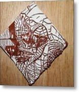 Hints Of Life - Tile Metal Print