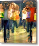Hip Hop Dance Night Metal Print by Robert Lacy