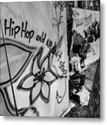 Hip Hop We Don't Stop Metal Print