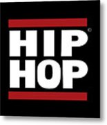 Hiphop Metal Print