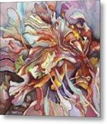 Hippocampe Rouge Metal Print