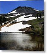Hiram Peak Glaciers Metal Print
