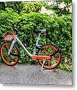 Hire Bike Metal Print