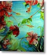 Hiroko's Hibiscus 4 Metal Print