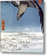 Hiroshige: Edo/eagle, 1857 Metal Print