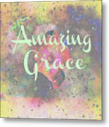 His Grace Metal Print