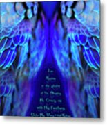 Beneath His Wings 2 Metal Print