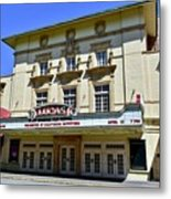 Historic 1920s Revived Lucas Theater Metal Print