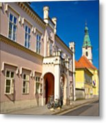 Historic Architecture Of Town Bjelovar Metal Print