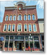 Historic Buildings Deadwood South Dakota Metal Print