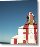 Historic Cape Bonavista Lighthouse, Newfoundland, Canada Metal Print
