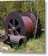 Historic Caribou Mine Metal Print