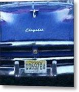 Historic Chrysler Front End Metal Print