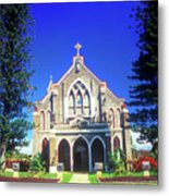Historic Church Maui Metal Print
