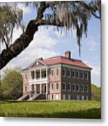 Historic Drayton Hall In Charleston South Carolina Metal Print