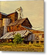 Historic Fairview Mill Metal Print