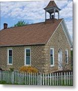 Historic Hinerville Schoolhouse  Metal Print