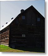 Historic Horse Barn Metal Print