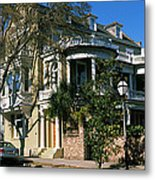 Historic Houses In A City, Charleston Metal Print
