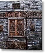 Historic Hutong Metal Print