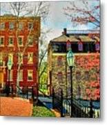 Historic Intersection Metal Print