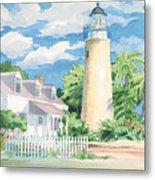 Historic Key West Lighthouse Metal Print
