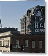 Historic Landmark Signs Roanoke Virginia Metal Print