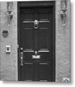 Historic Lion Door Metal Print
