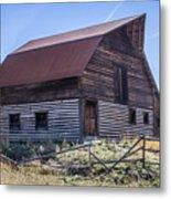 Historic More Barn Metal Print