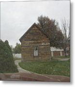 Historic Mormon Cabin Metal Print