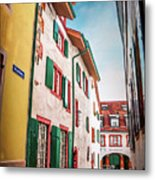 Historic Old Town Basel Switzerland  Metal Print